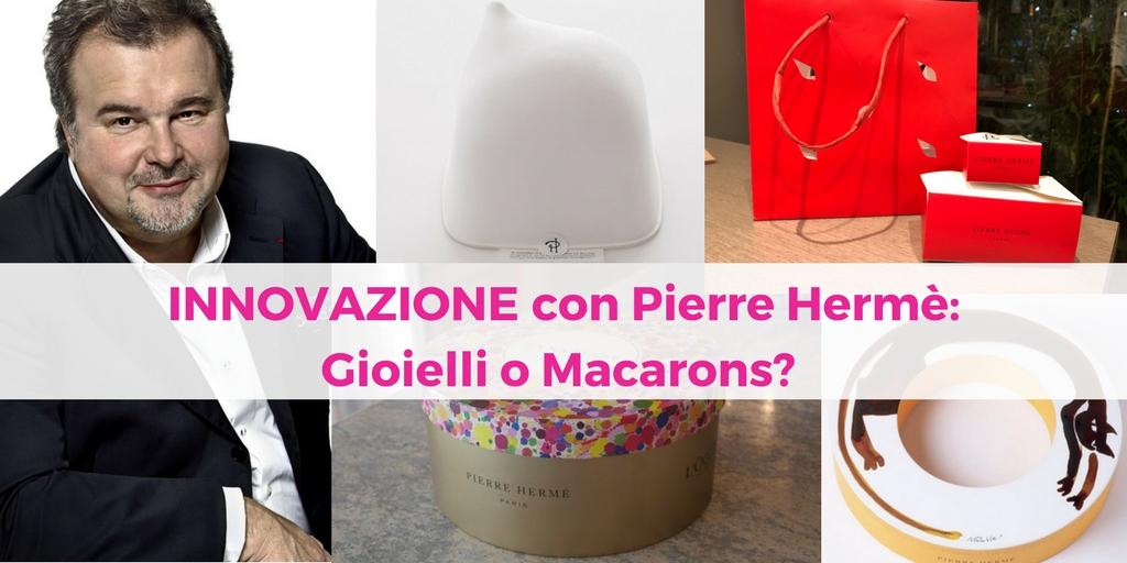 Innovazione con Pierre Hermè: Gioielli o Macarons?